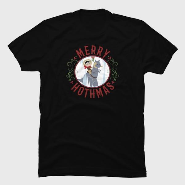 Hothmas - Star Wars Christmas T-Shirts