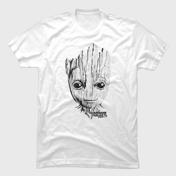 Illustrative Groot Tees