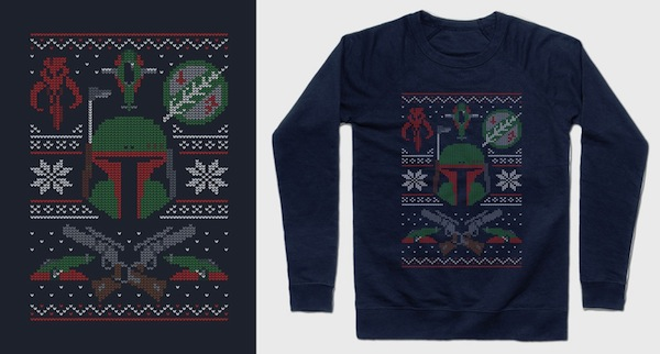 Mandalorian Sweater - Star Wars Xmas Apparel