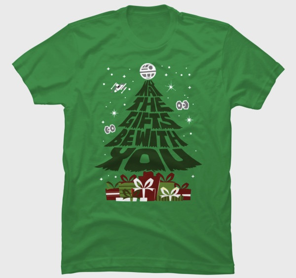 May the Gifts Be With You - Star Wars Christmas T-Shirts