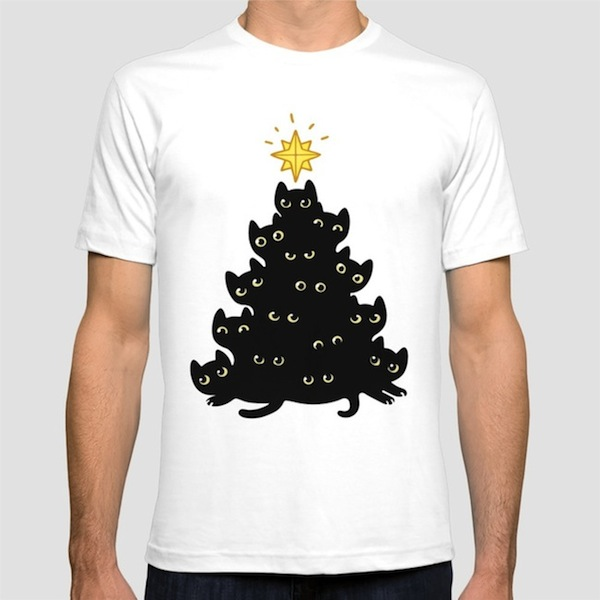 Meowy Christmas Tees – by Irmirx