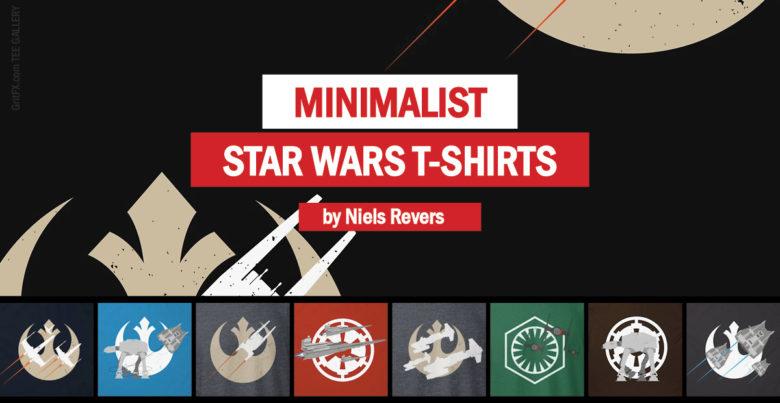 Minimal Star Wars T-Shirts