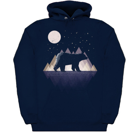 Moon Bear - Bear Hoodies by rocketman
