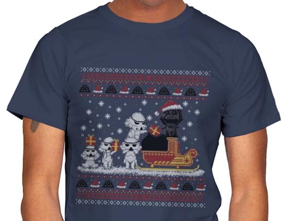 STAR CHRISTMAS - UGLY HOLIDAY - MENS