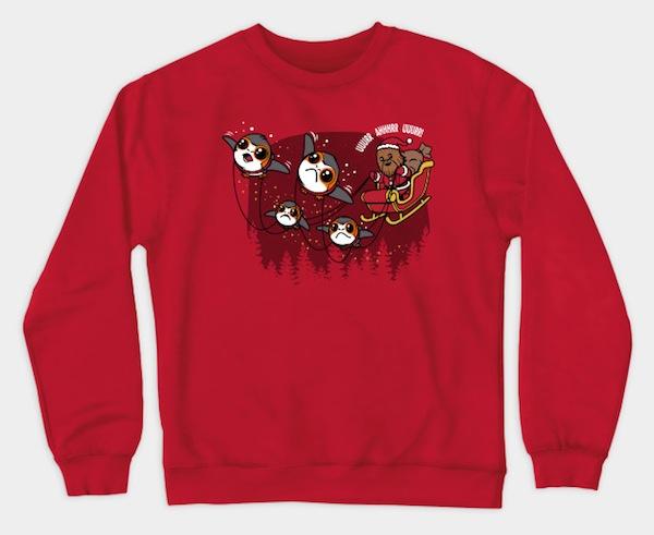 Santa Wookie Crewneck Sweatshirt