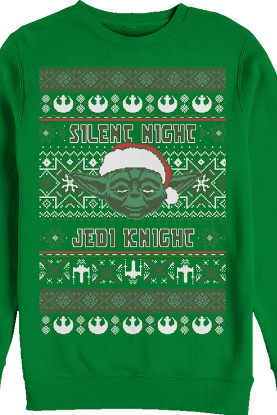 Silent Night Jedi Knight - Star Wars Sweater
