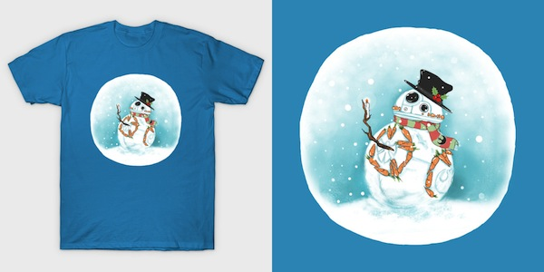 Snowball - Star Wars Christmas T-Shirt