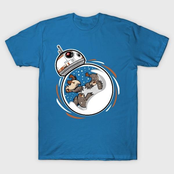SnowgloBB-8 - Star Wars Christmas T-Shirt