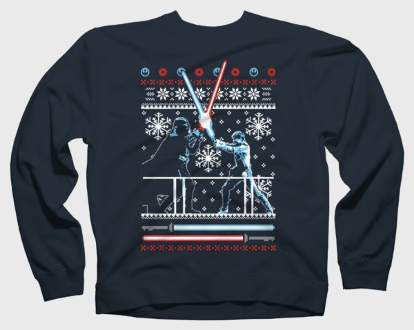 Star Wars Christmas Duel Sweaters