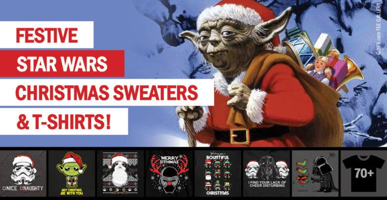 Star Wars Xmas T-Shirts & Sweaters