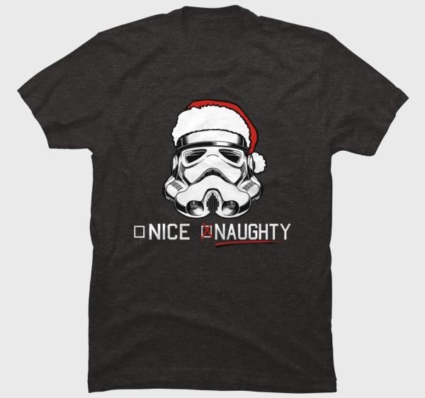 Stormtrooper Naughty List - Star Wars Christmas T-Shirt