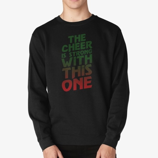 The Cheer is Strong With This One - Star Wars Xmas Sweaters