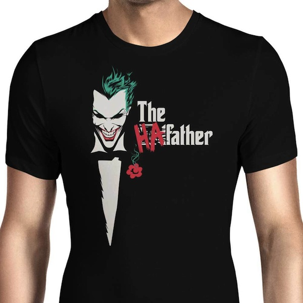 The HaFather - Joker Tee by Foureyedesign