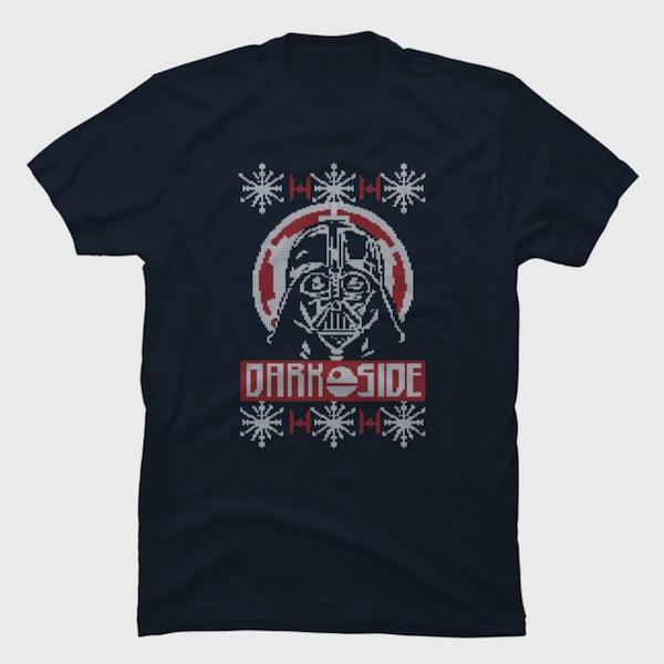 Ugly Christmas Vader T-Shirt