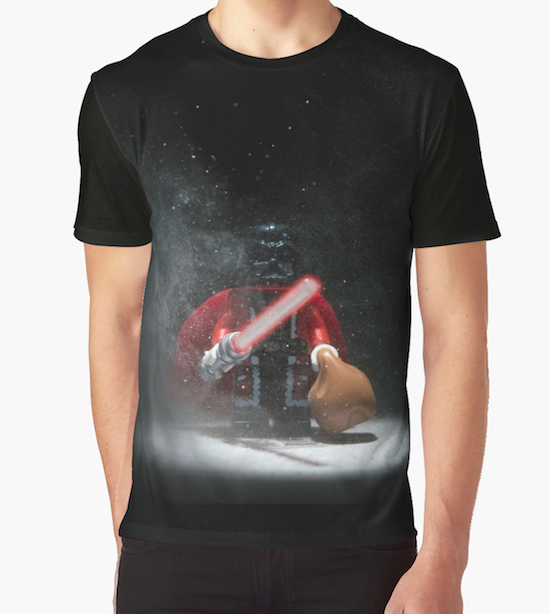 Vader Clause - Star Wars Christmas T-Shirts