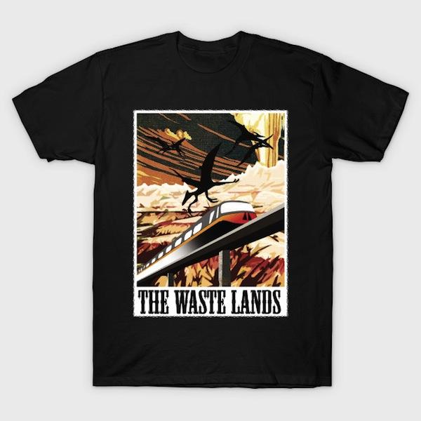 Visit The Waste Lands! - by RocketPopInc