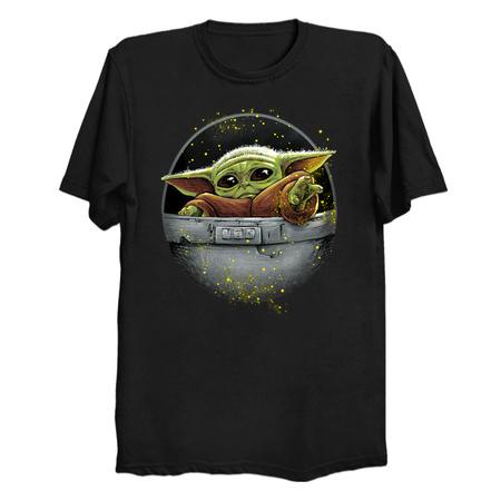 Cute Force - The Mandalorian T-Shirts by Andriu