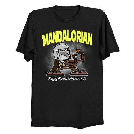 Fightin' Lorian - The Mandalorian T-Shirts by Milasneeze