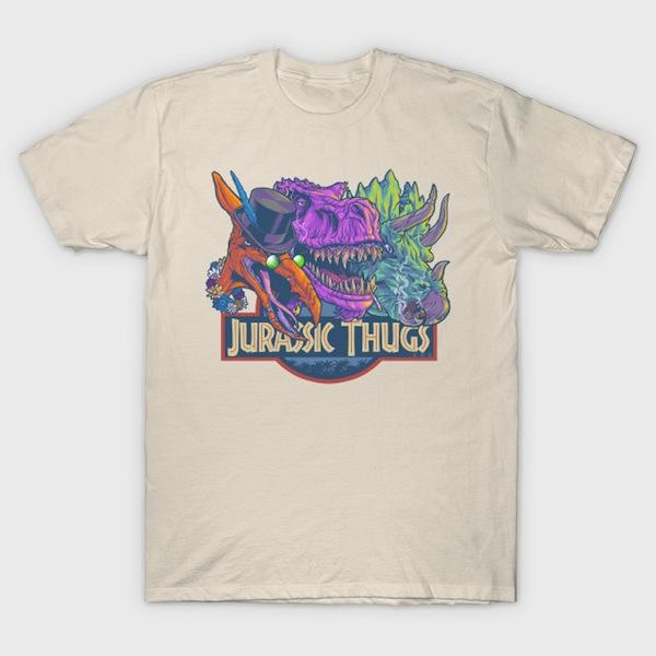 Jurassic Thugs - by cs3ink