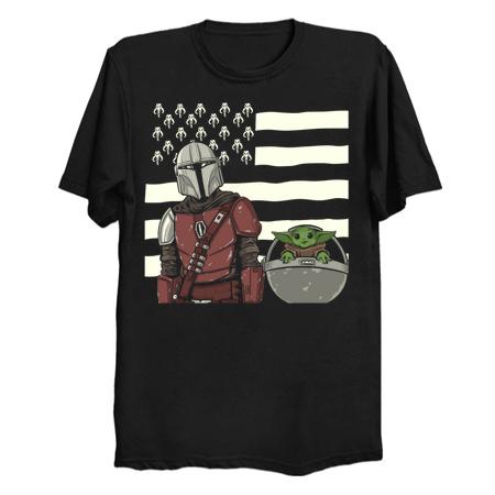 MANDALONIA - The Mandalorian T-Shirts by BetMac