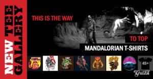 New Tee Gallery: Trending Mandalorian T-Shirts