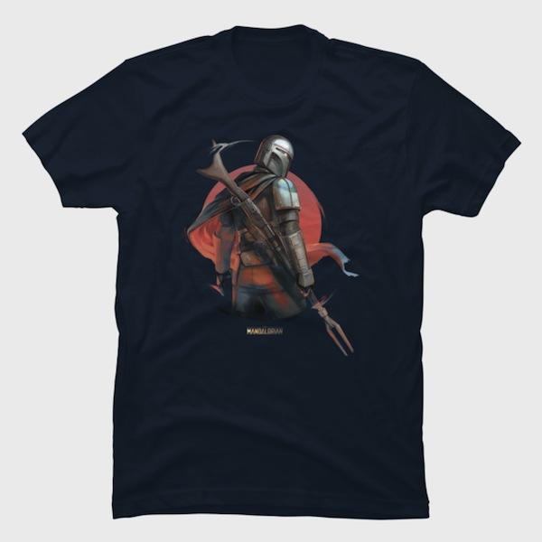 Red Sun Mandalorian - The Mandalorian T-Shirts
