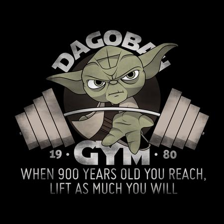 Yoda's Dagobah Gym by BS