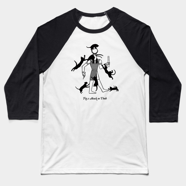 Attack On Thoth Baseball Tees
