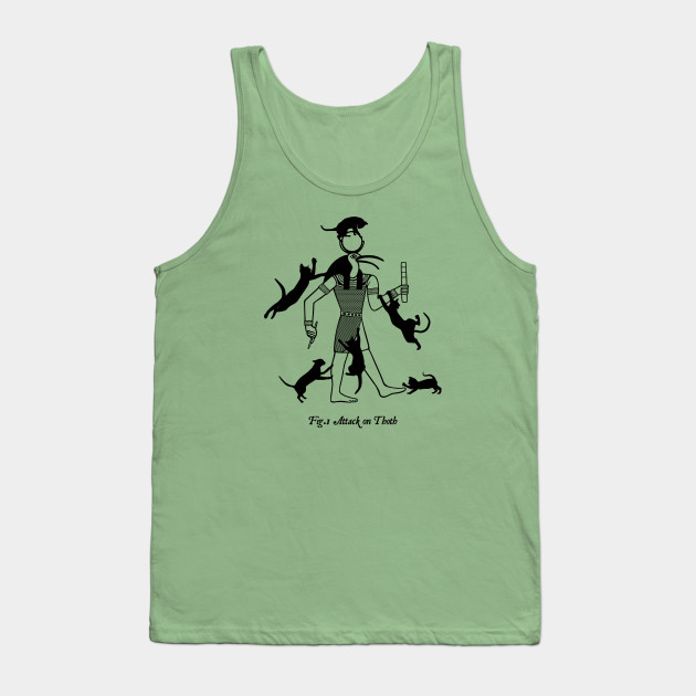 Attack On Thoth Tank Tops