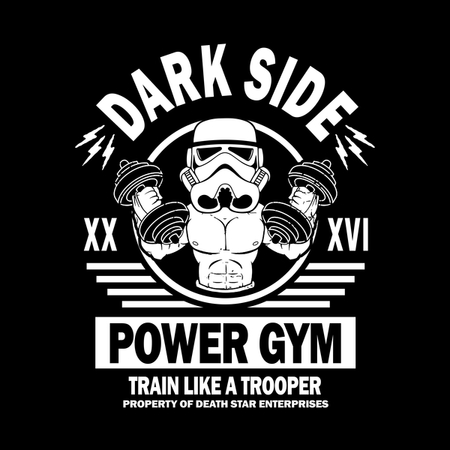 Dark Side Power Gym, Train Like A Trooper