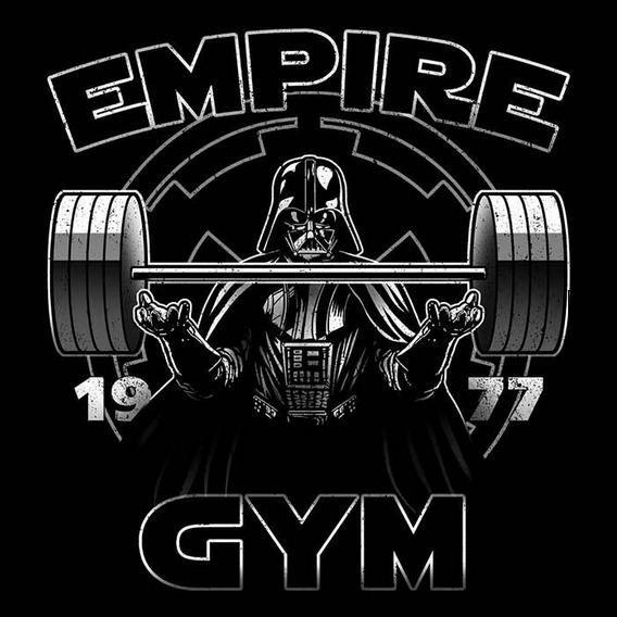 Empire Gym Star Wars Tees