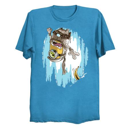 Frozen Banana Luke Skywalker parody t-shirt