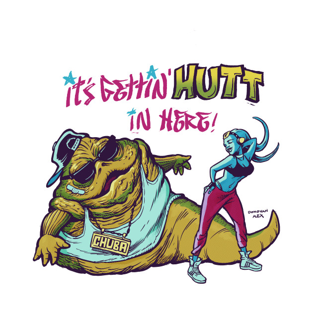 Hutt in here Star Wars Funnies