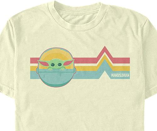 Retro The Child Star Wars The Mandalorian T-Shirt