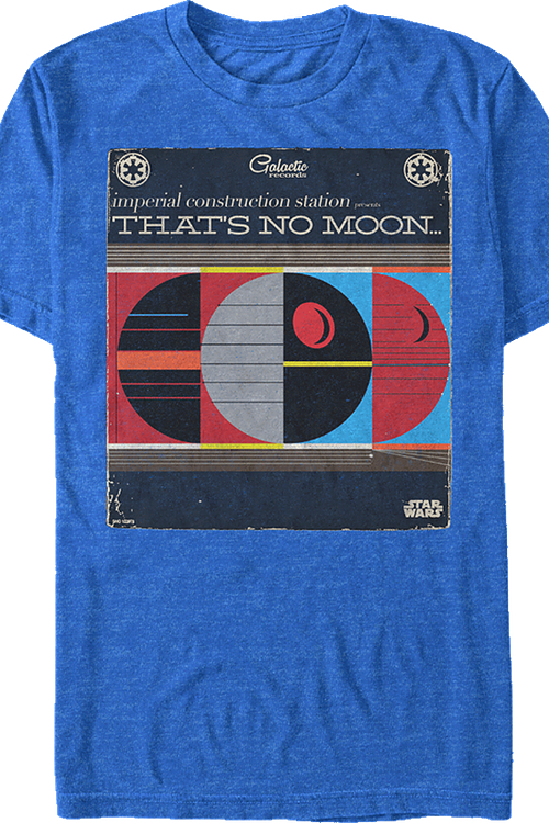 That's No Moon Funny Sci Fi Star Wars tshirt