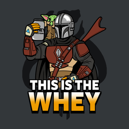 This is the Whey Star Wars apparel