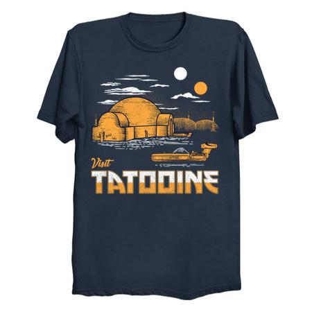 Visit Tatooine Luke Skywalker T-Shirts