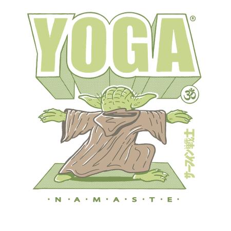 Yoda Yoga T-shirts