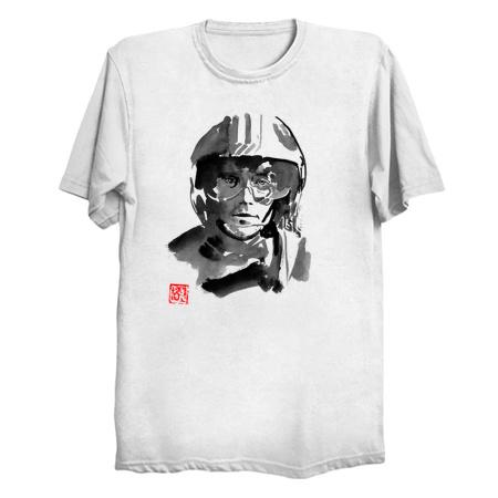 luke skywalker pilot Tees