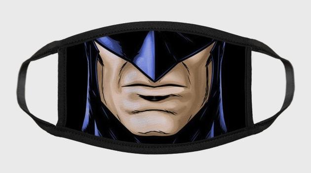Batman Mouth Pop Culture Face Masks