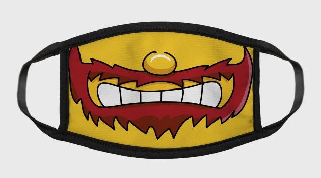 Groundskeeper Mouth - TV Face Masks