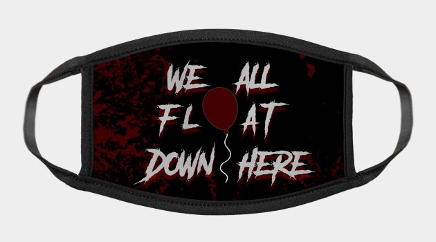 IT We All Float Down Face Mask