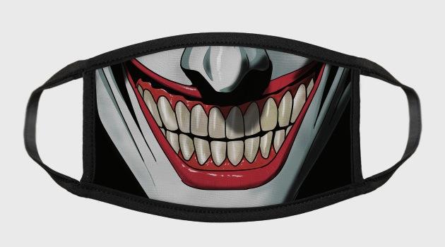 Joker Mouth Smile - Face Masks