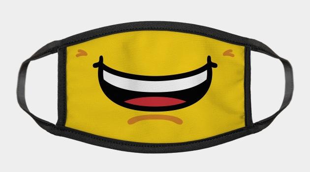 LOL smile LEGO - Pop Culture Face Masks