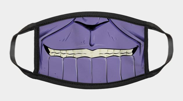 Mad Titan Face mask