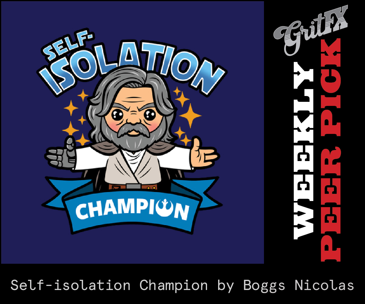 Self-isolation Champion by Boggs Nicolas