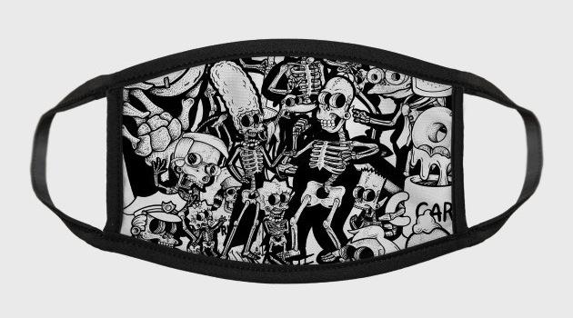 Springfield Bones - Face Masks