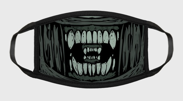 XENO'S JAWS Face mask