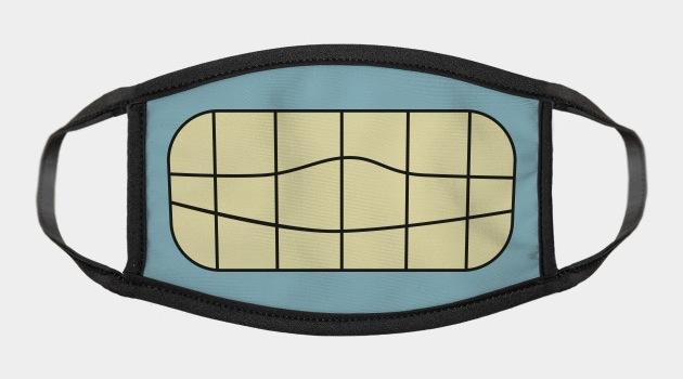bender mouth Face Mask