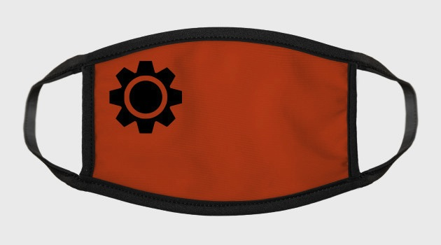 clockwork orange face mask